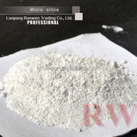 China white zirconium silica fume for refractory with free samples