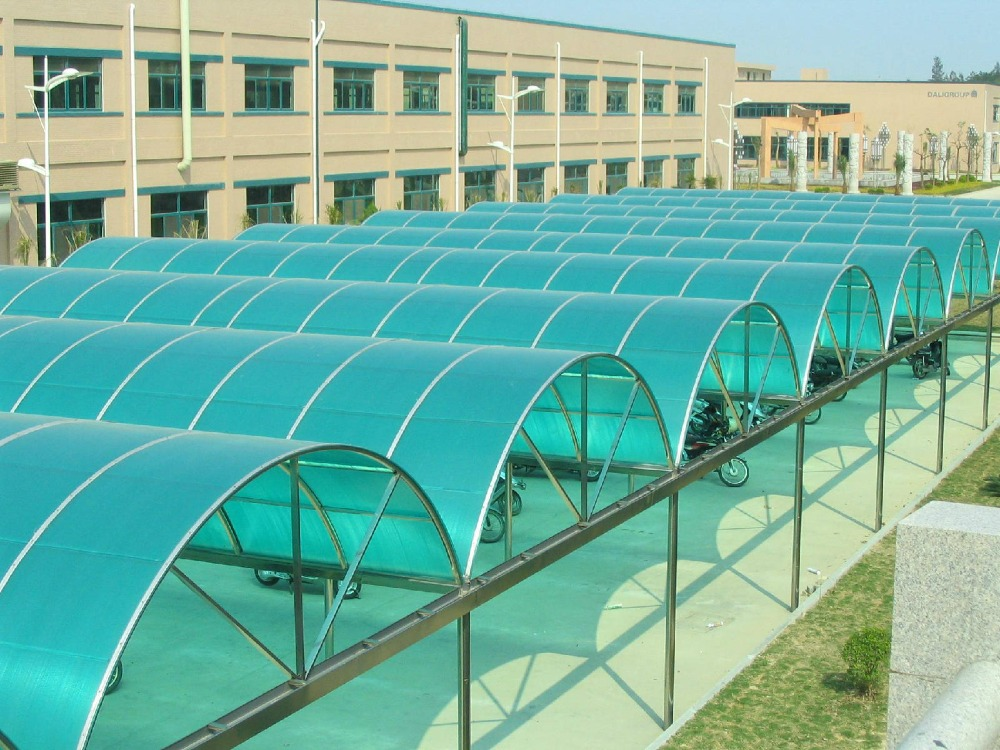 western hot sales polycarbonate roof carport/Best quality aluminum