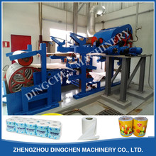 787mm type 800kg per day automatic small scale mini small tissue toilet paper roll making machine
