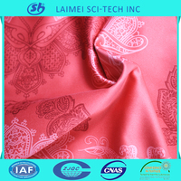 Wholesale disperse printed polyester satin fabric