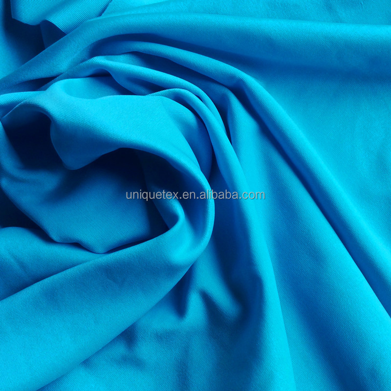 wholesale cheap 4 Way Stretch Lycra 90 polyester 8 spandex fabric