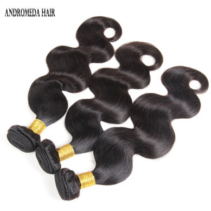 Raw Indian body weave hair unprocessed 100% mink peruvian virgin remy 10a grade natural color