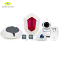 Russian/Turkish/Swedish/Dutch languages voice 3G/WIFI smart home security alarm system,wireless home burglar alarm system