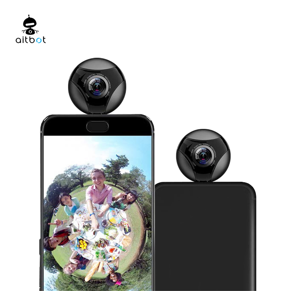 360 degree 4K hd micro sport action Camera for android phone accesories