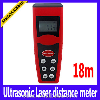18m 60ft range finder 18m ultrasonic digital laser rangefinder With laser pointer