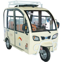 60 v1200w 24 tube controller Electric tricycle taxi, closed, family car instead of walking, the old car.