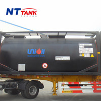 20 feet dnv approved liquid transport asphalt transport tanks price