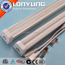 UL AC100-277V 2ft-8ft 8w-60w animal tube free hot sex t5 led tube T5 LED Integrative Double Tube