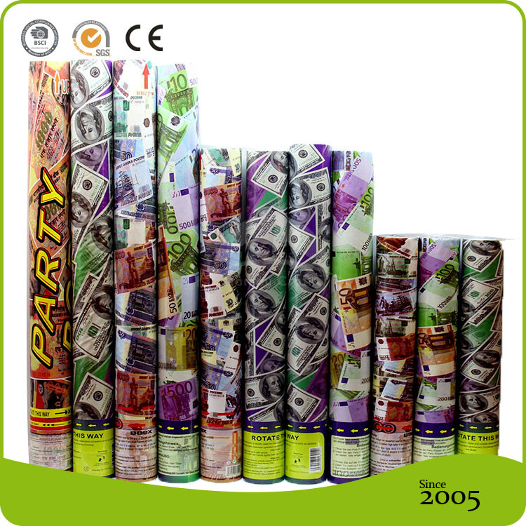 Cheap Items To Sell high quality Push-Pop Paper Confetti Cannon