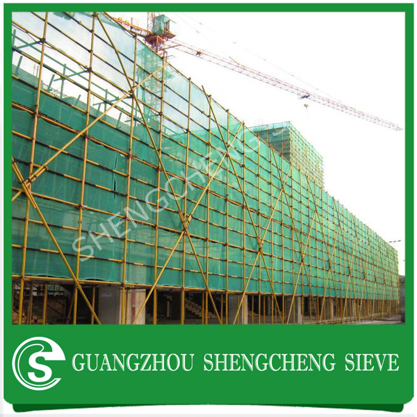 100% virgin HDPE debris fence netting/ privacy fence netting/ construction debris netting