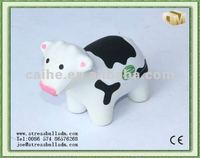 PU anti-stress milch cow for toys and promotions