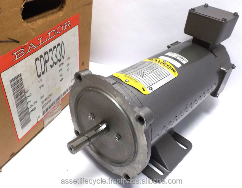 NEW BALDOR CDP3330 DC ELECTRIC MOTOR 1750 RPM HP.5 TYPE PM333CP SPEC 33-2024Z122