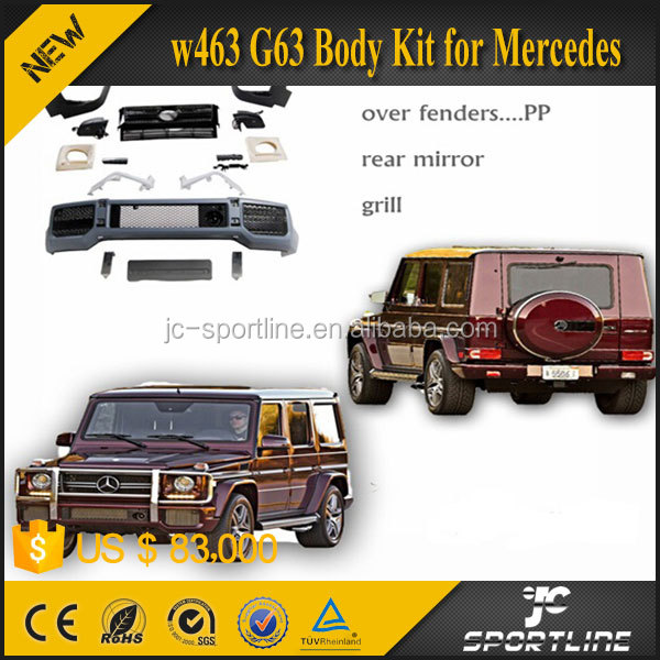 G-class W463 G63 Body Kit for Mercedes 08y