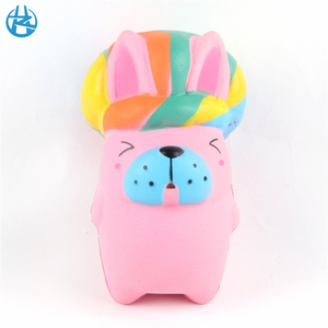 2018 trendings stress pu form relief toy christmas gift squishy animal for kids adults