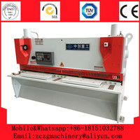 High quality cheap price QC11K-16x2500mm NC hydraulic iron sheet shears,30*2500 metal cutting machine price