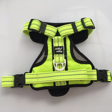 Best Selling Premium Weighted Pet Soft Mesh Comfortable 3M Reflective Nylon Dog Harness