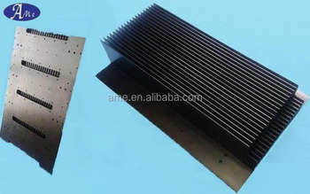 Extruded LED street light aluminium heat sink