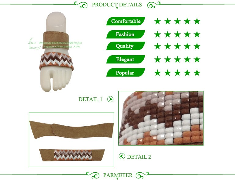 High Quality Shoe Material For Shoe Vamps