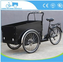 hand in hand vehicle manpower 3 wheeler pedal cargo tricycle