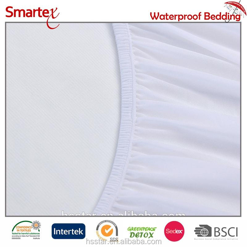cooling jersey sandwich mattress protector cover quiet feeling tpu silicone