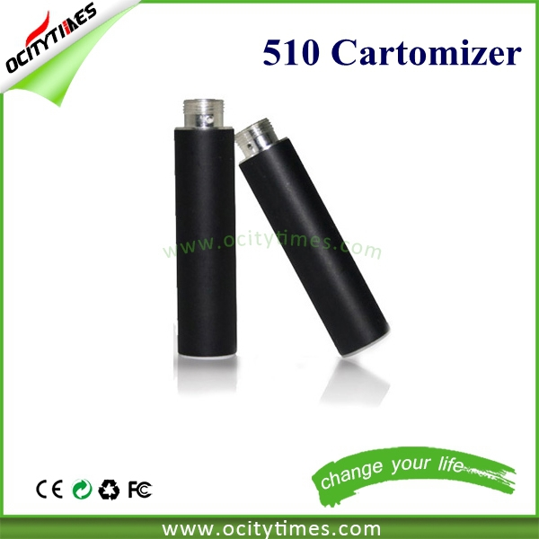 Super vapor electronic cigarette 510 vape cartridge with spring loaded 510 connector