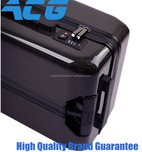 Carbon Fiber Luggage travelling Trunk trolley case