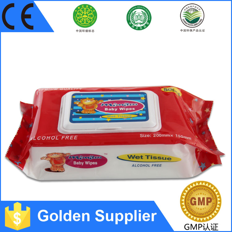 China Tier One Factory wholesale Cover Pocket Pack Baby Wipes
