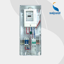 SAIP/SAIPWELL Polycarbonate Prepaid Australia Electric Metal Waterproof Meter Box
