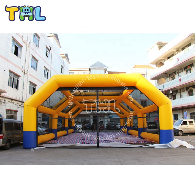 Cheap inflatable large tents for paintball /inflatable paintball tent