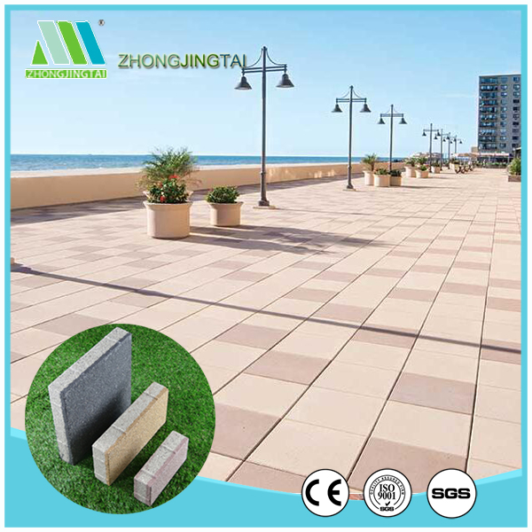 cheap easy to reinstall water permeable paving bricks