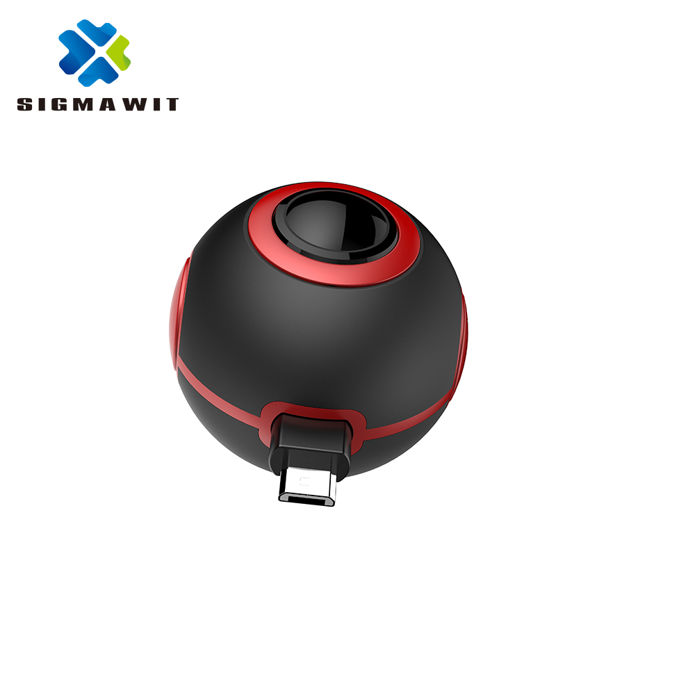 Sigmawit 2017 hot selling in USA market 360 camera HD VR camera for iPhone / Android