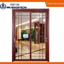 Aluminum casement twin side lite door arch shaped door