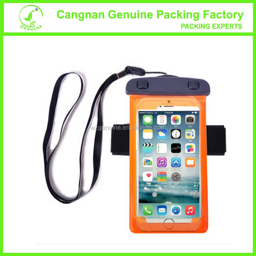 TOP design mobile phone waterproof pouch /waterproof cases for swim