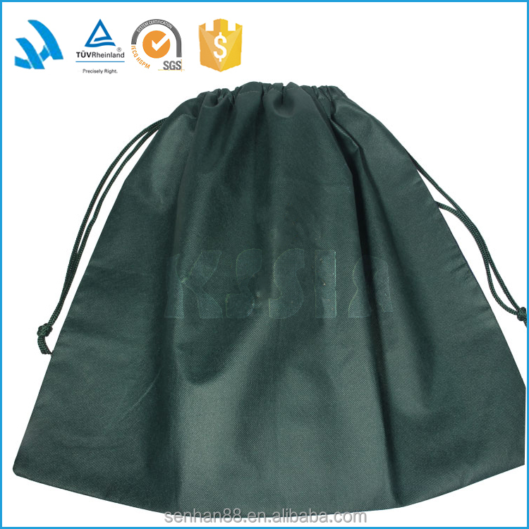 Alibaba China Gold Suppliers Non Woven Cloth Drawstring Shoe Dust Bag Wholesale