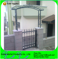 Cheap Home Entrance Iron Grill Gate Design