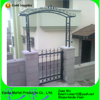 Cheap Home Entrance Iron Grill Gate