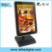 7-10lcd pos advertising player/ lcd media players. tabletop retail advertising, restaurant menu board