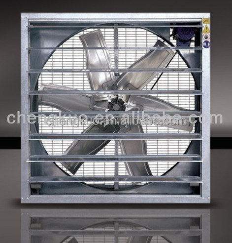 Wall mounted Galvanized sheet portable kitchen exhaust fan