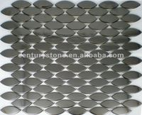 Oval Pattern Stainless Steel Mosaic