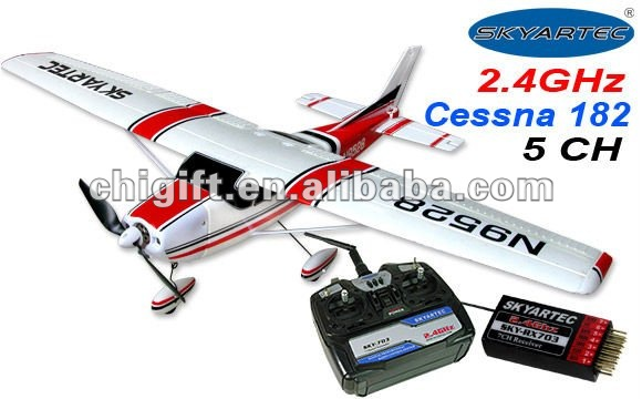 6ch brushless 2.4G Cessna 182 RC Airplane RTF