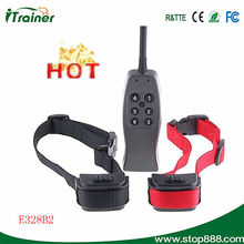 Pet products supplier rechargeable electronic dog training collar with Vibration and shock