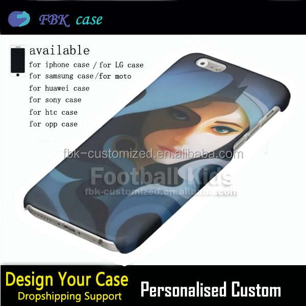 Cheap price phone mobile plastic 3D protector cell phone case for iphone 6