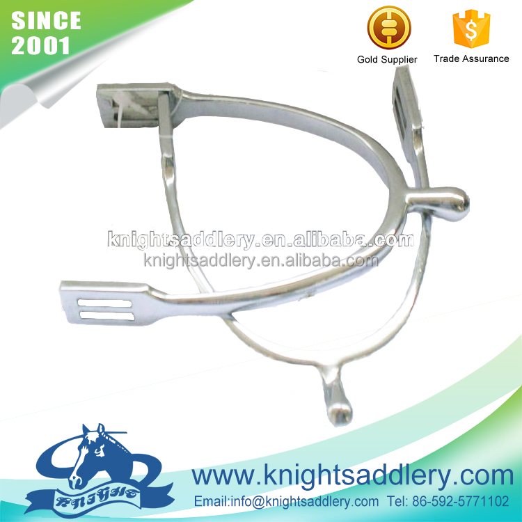 Wholesale Horse Equipment Lightweight Zinc Alloy English Spurs