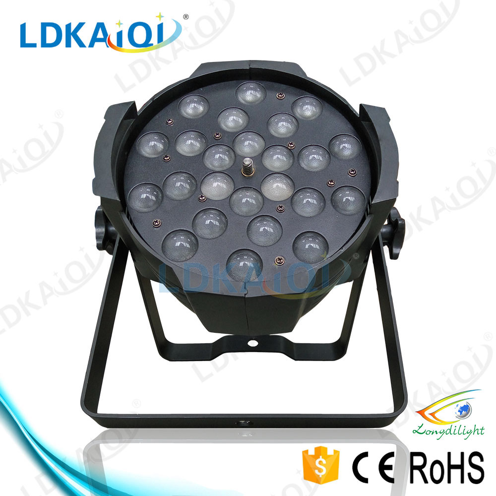led lights 24X18W rgbaw uv light led par zoom stage light