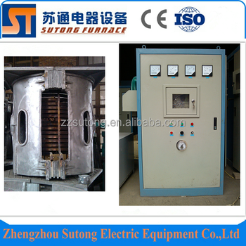 Hot sale 500kg Medium frequency metal induction melting / heating furnace price