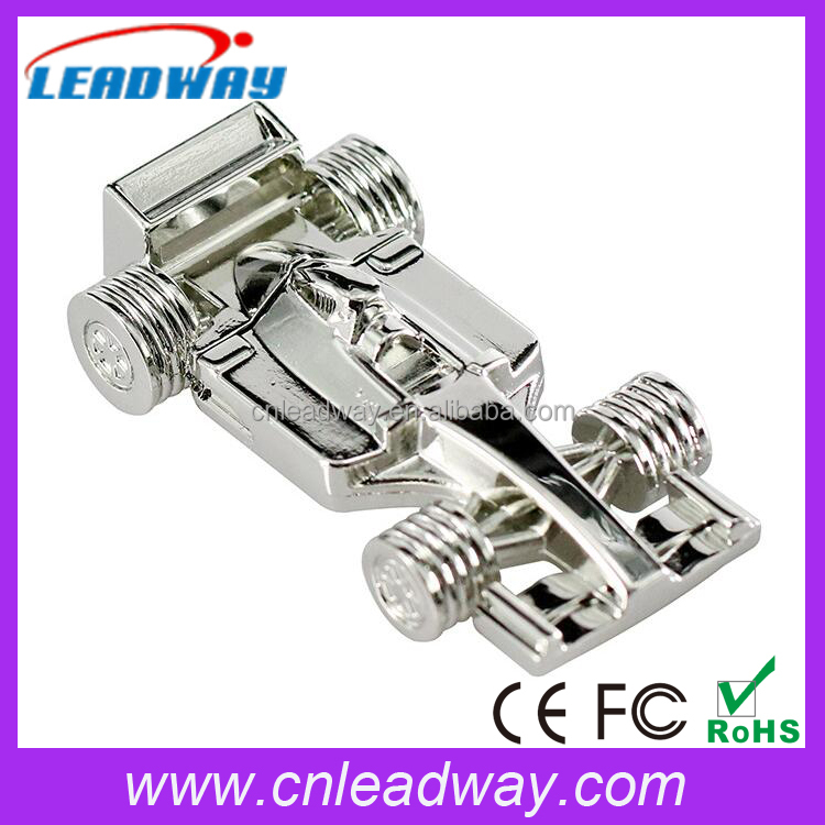 8GB Metal F1 Race Car USB 2.0 Flash Memory