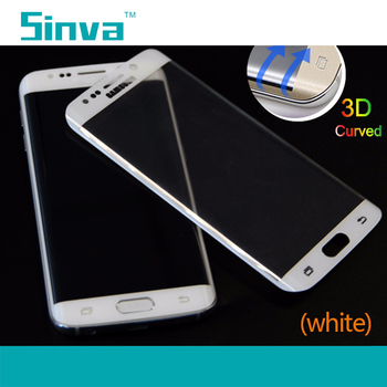 Sinva factory New Arrival Full cover Wholesale 3D Curved Full Screen Cover Tempered Glass Screen Protector for Samsung Note 5