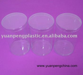 Transparent Round PVC Boxes,Transparent Plastic Tubes,Transparent Plastic Cylinder