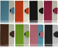Leahter case flip cover for ipad mini