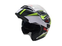 the latest flip up motorcycle helmet with double visor motorcycle accessories